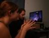 conny-and-joe with the directors screen - photo Haruna H.
