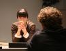 Inka Malovic and Joe Berger talking - photo Haruna H.