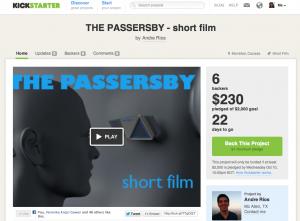 THE PASSERSBY - KICKSTARTER